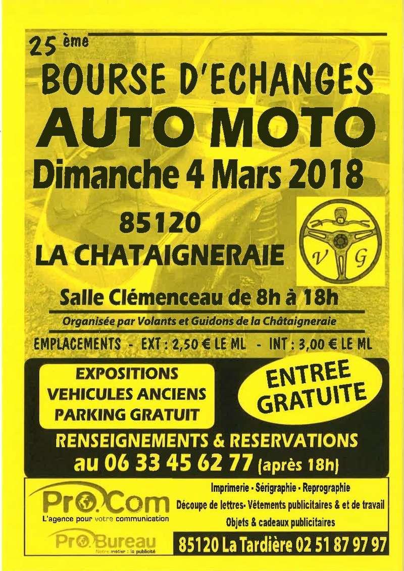 Un petit tour à la Châtaigneraie pour un rassemblement d'anciennes .... 2018la10