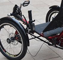 Trike vélo bi-place Guidon10