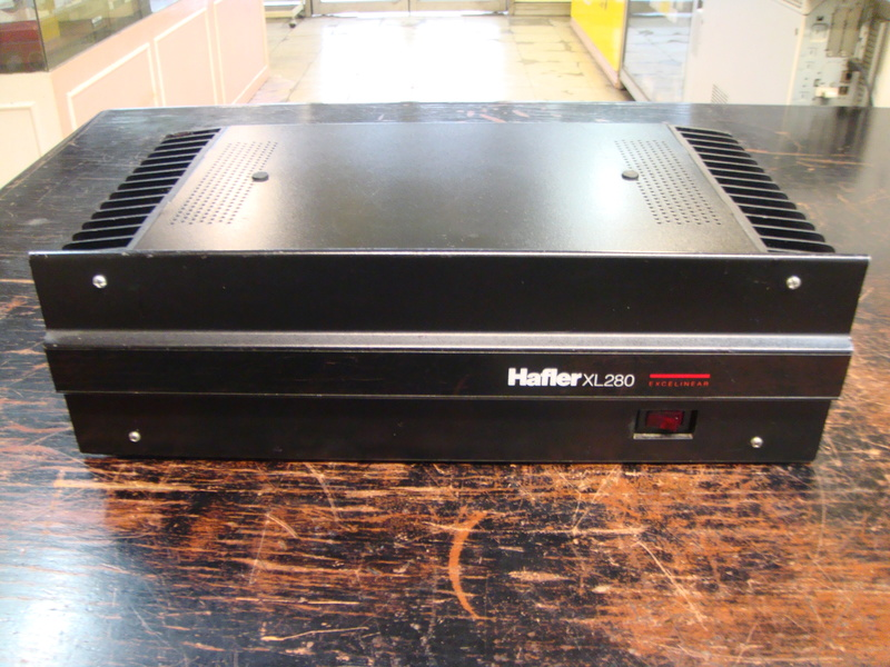 Hafler XL280 power amplifier (sold) Dsc06410