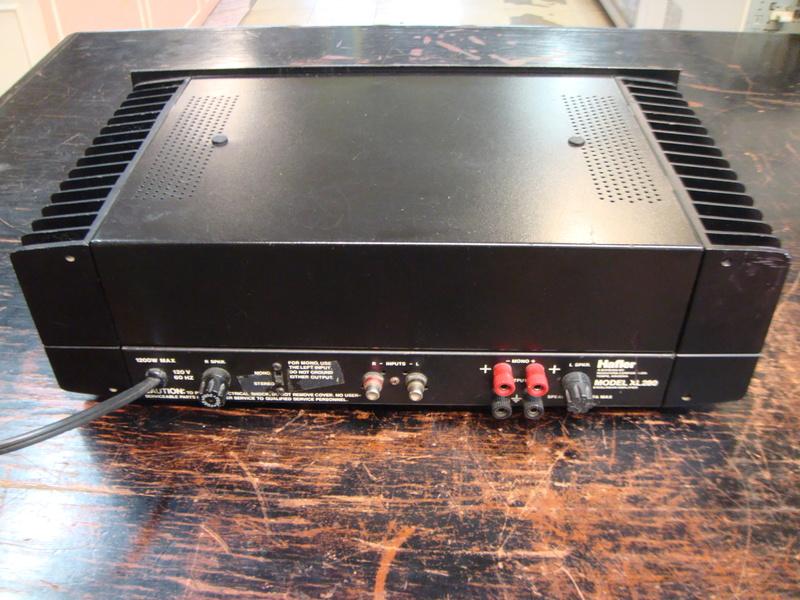 Hafler XL280 power amplifier (sold) Dsc06411