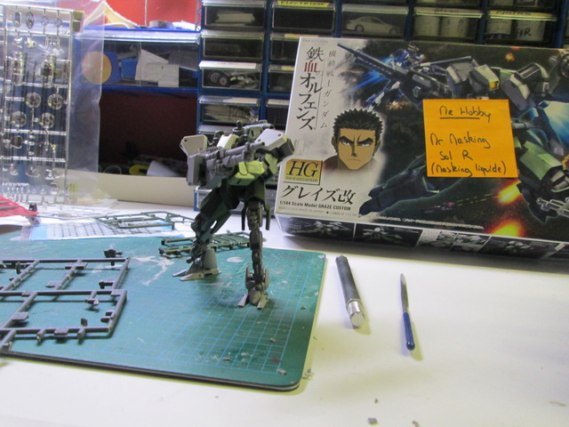 Gundam Graze Custom Iron-Blooded Orphans (WWII?) Gundam18