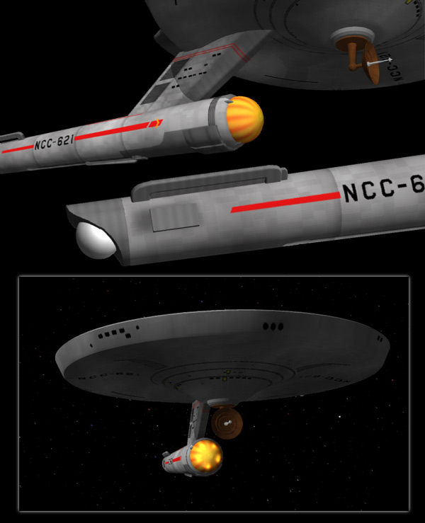"Star Trek ""Classe Saladin"" Destroyer Saladi13"