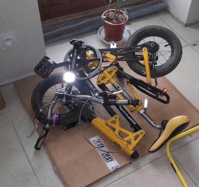 Vélo pliant Wei Shun Kisspl11