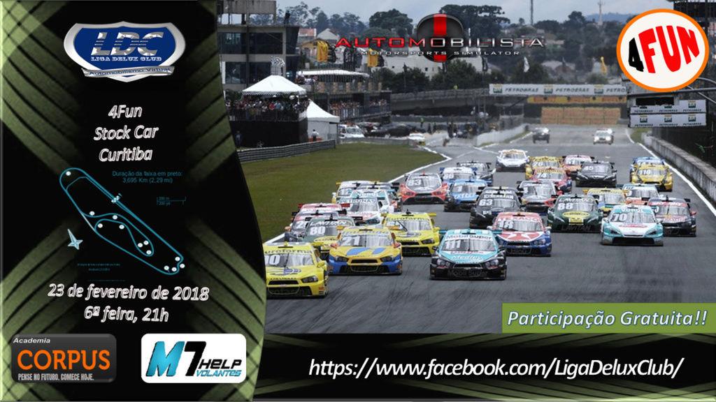 LIGA DELUX CLUB - 4Fun @Stock Car - Curitiba (40 minutos) 4fun13