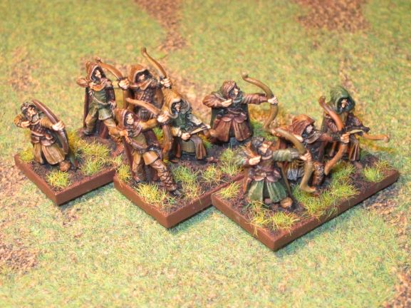 armée aquilonienne de la saga de Conan par RE Howard en 15mm Archer11
