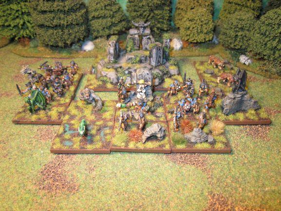 armée picte de la saga de Conan par RE Howard en 15mm   Armye_14