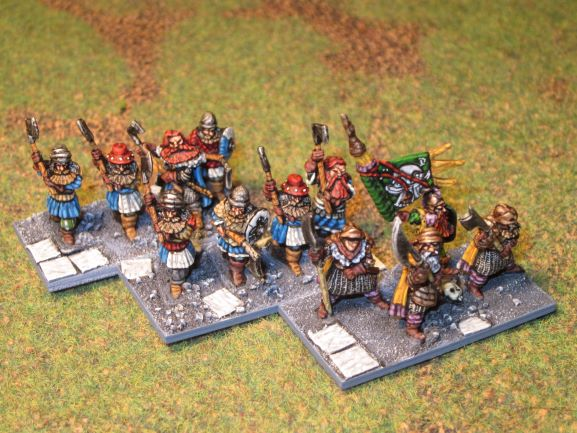 armée naine de la Moria en 15mm Blades11