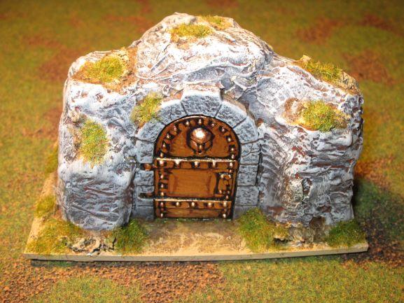 armée naine des Monts de Fer en 15mm Camp12