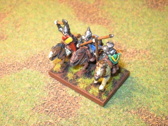 armée aquilonienne de la saga de Conan par RE Howard en 15mm Cheval10