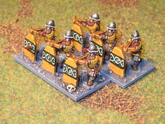 armée naine de la Moria en 15mm Tireur11