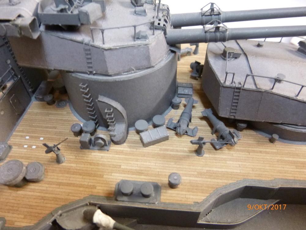 Jap. Schlachtschiff FUSO in 1:200 Halinski gebaut von Millpet   - Seite 33 P1070511