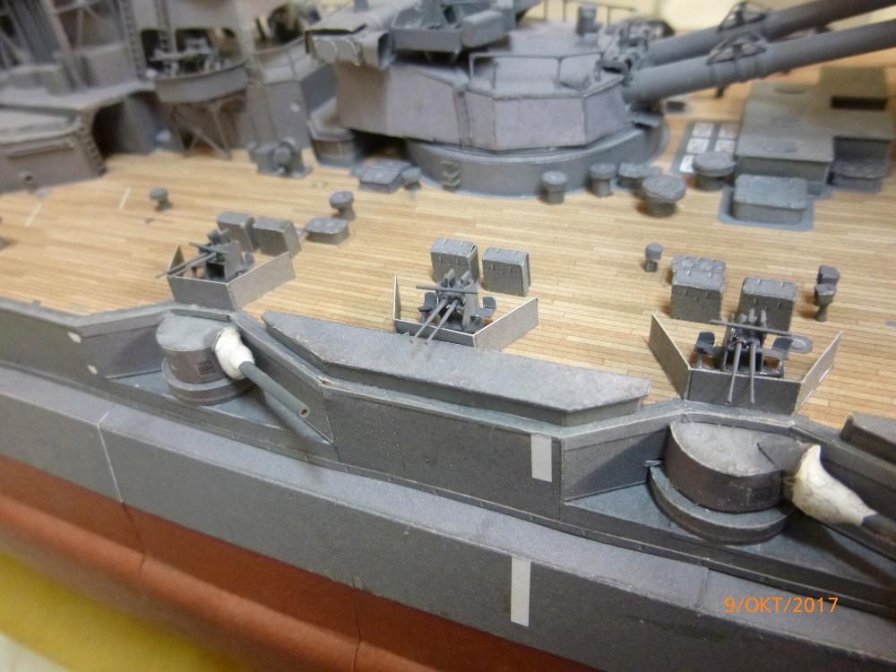 Jap. Schlachtschiff FUSO in 1:200 Halinski gebaut von Millpet   - Seite 33 P1070512