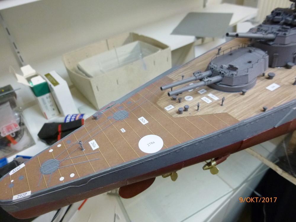 Jap. Schlachtschiff FUSO in 1:200 Halinski gebaut von Millpet   - Seite 33 P1070514
