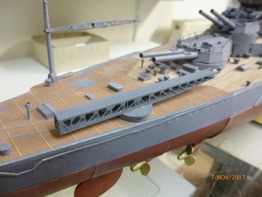 Jap. Schlachtschiff FUSO in 1:200 Halinski gebaut von Millpet   - Seite 33 P1070813