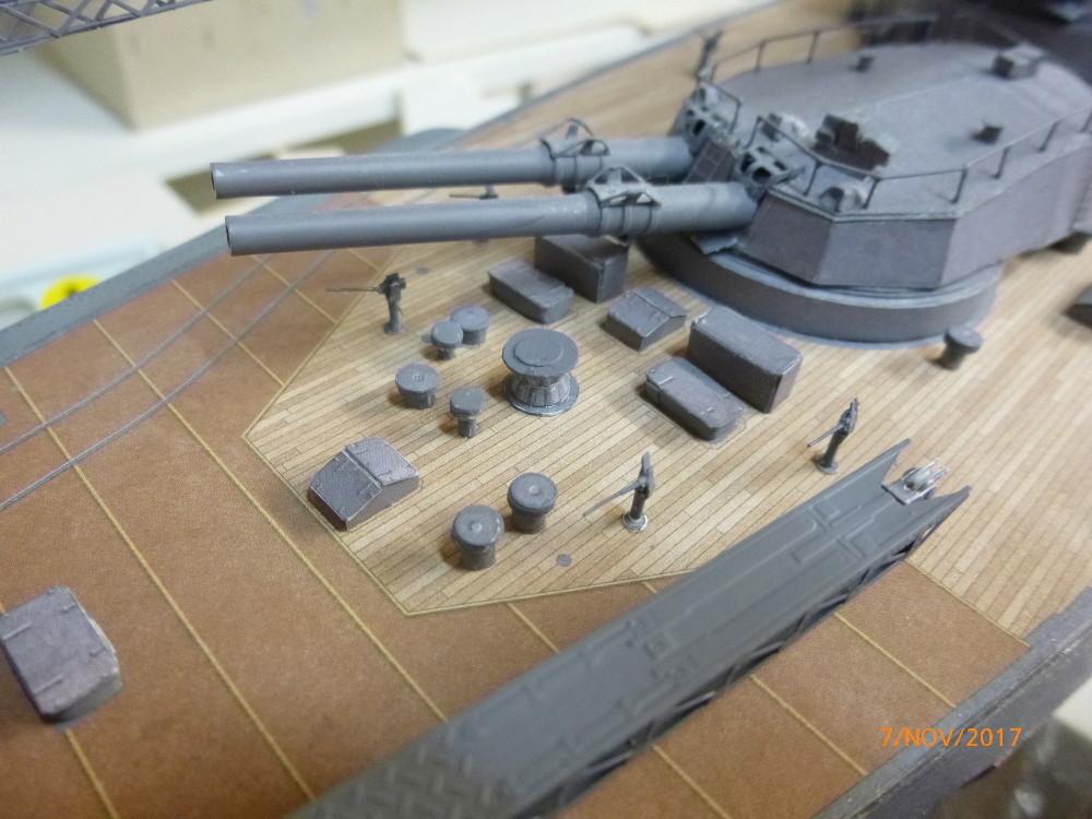 Jap. Schlachtschiff FUSO in 1:200 Halinski gebaut von Millpet   - Seite 33 P1070815