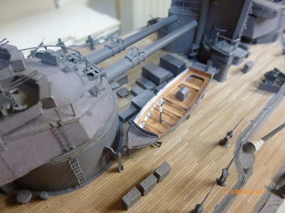 Jap. Schlachtschiff FUSO in 1:200 Halinski gebaut von Millpet   - Seite 34 P1070833