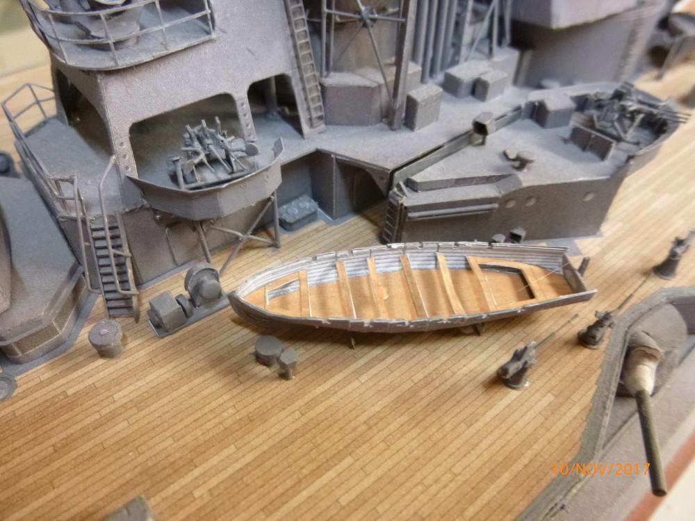 Jap. Schlachtschiff FUSO in 1:200 Halinski gebaut von Millpet   - Seite 34 P1070834
