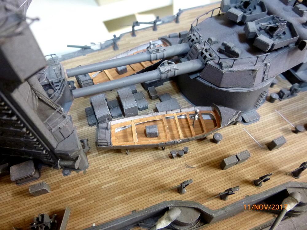Jap. Schlachtschiff FUSO in 1:200 Halinski gebaut von Millpet   - Seite 34 P1070835