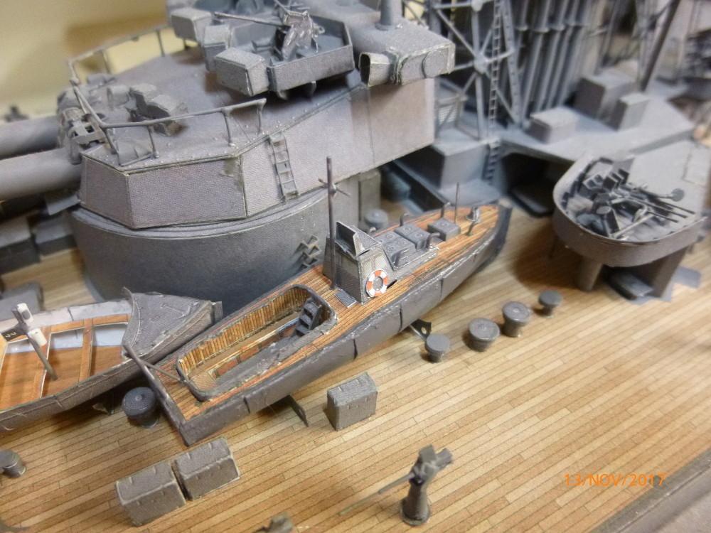 Jap. Schlachtschiff FUSO in 1:200 Halinski gebaut von Millpet   - Seite 34 P1070837