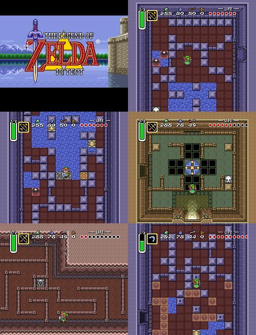 Zelda3 IQ test, Revenge of the Einstein, release Zelda310