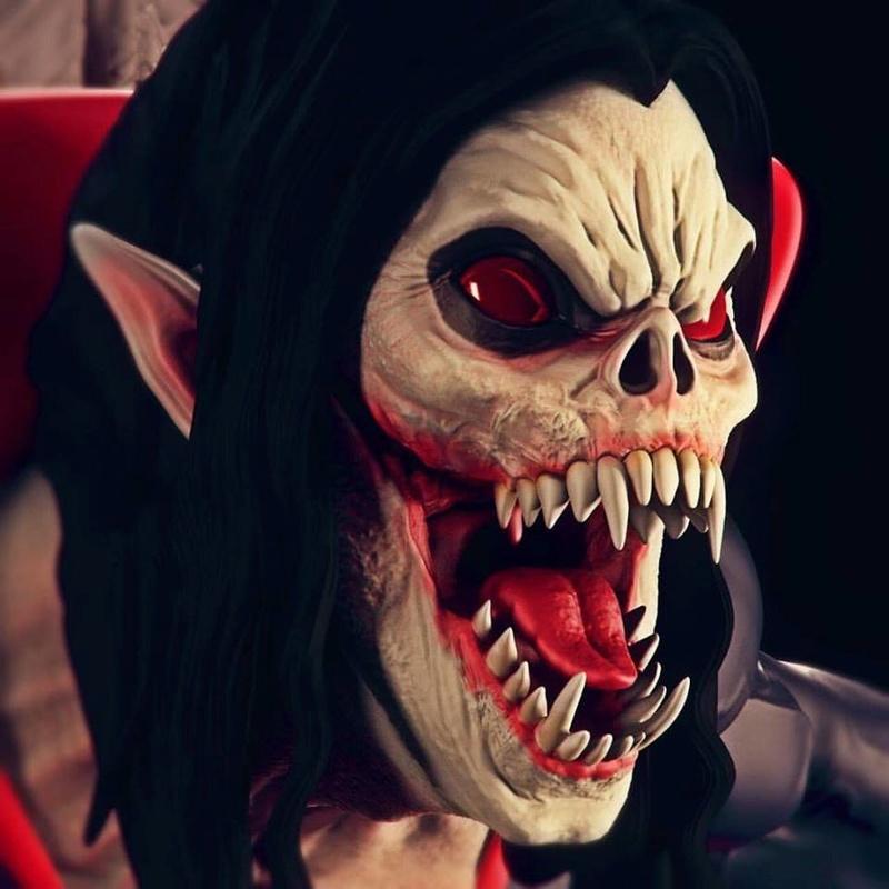 Morbius  Living Vampire 1/4 par Lucifixion Studios  18222510