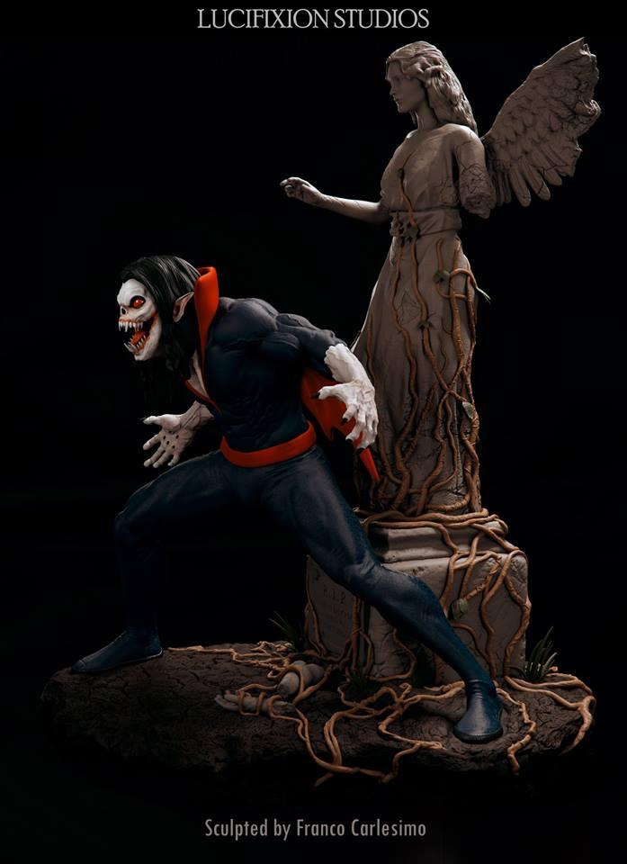 Morbius  Living Vampire 1/4 par Lucifixion Studios  18953010