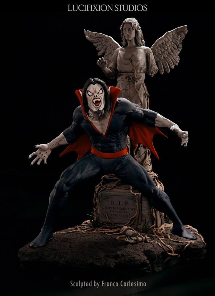 Morbius  Living Vampire 1/4 par Lucifixion Studios  19030710