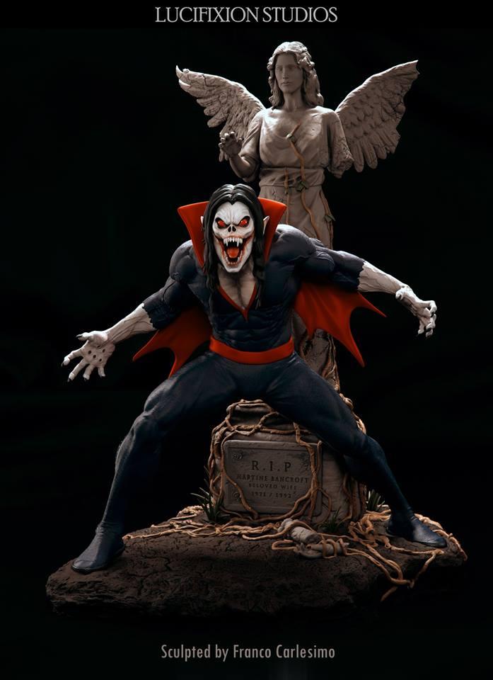 Morbius  Living Vampire 1/4 par Lucifixion Studios  19059111