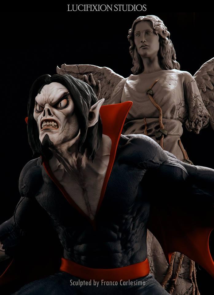 Morbius  Living Vampire 1/4 par Lucifixion Studios  19113710