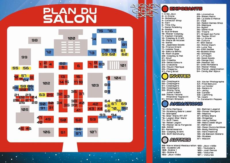 MAJ : Avignon Geek Expo 2  : 17-18 février 2018 28061710