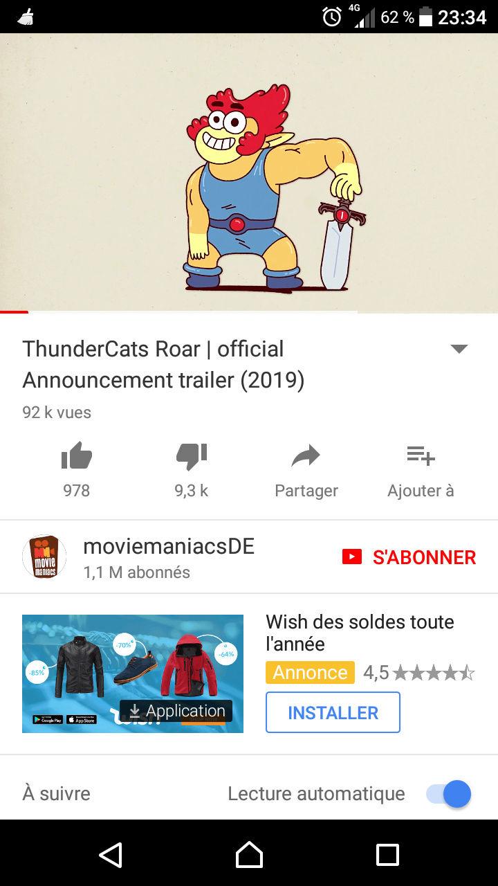 WB Thundercats Cartoon  Screen10