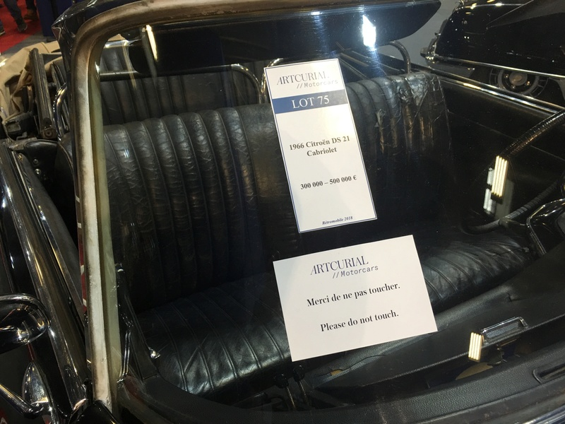 [ Retromobile 2018 ] Vente Artcurial Img_6133