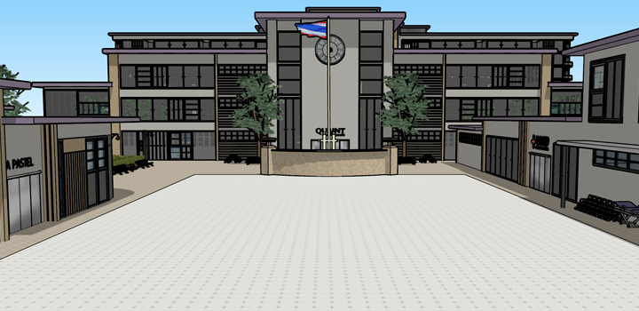 Quaint School Community's Area Flag-010