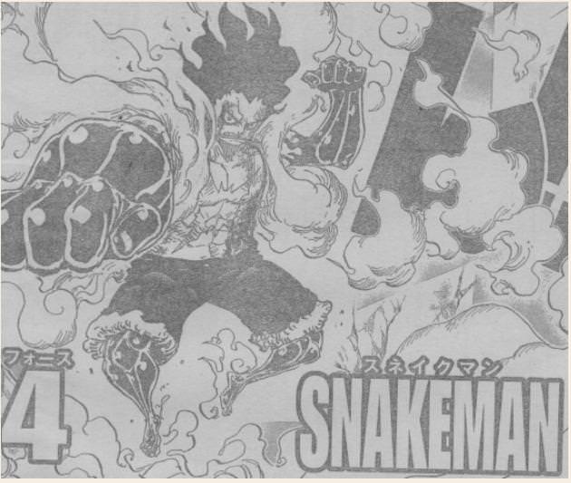 One Piece Manga 895: Spoiler Luffy_10