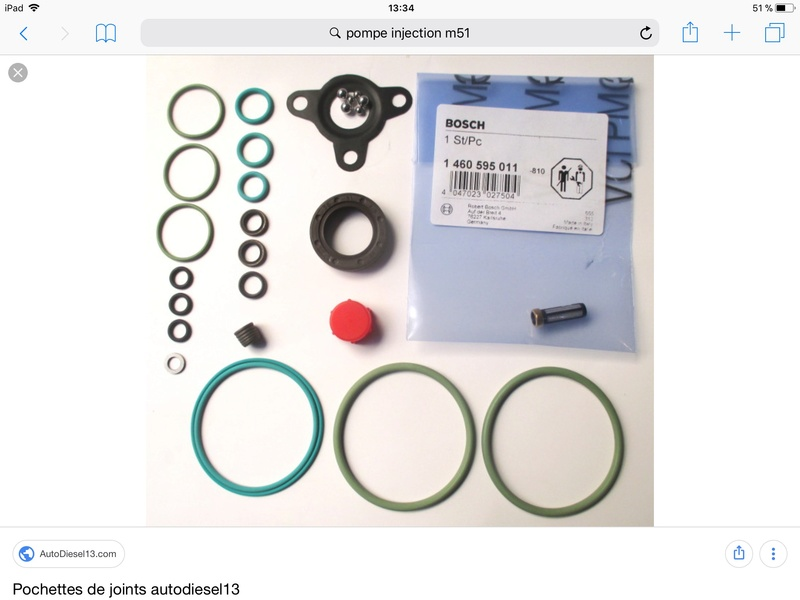 joint distributeur pompe injection 33951a10