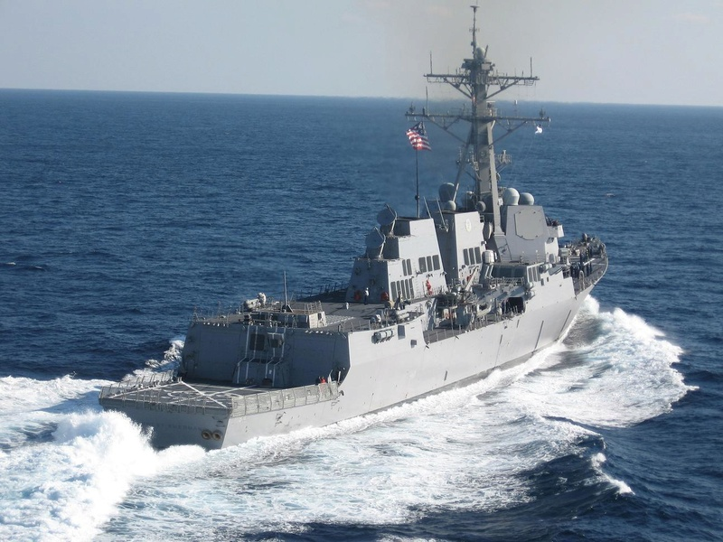USS FORREST SHERMAN - DDG 98 Img_4835