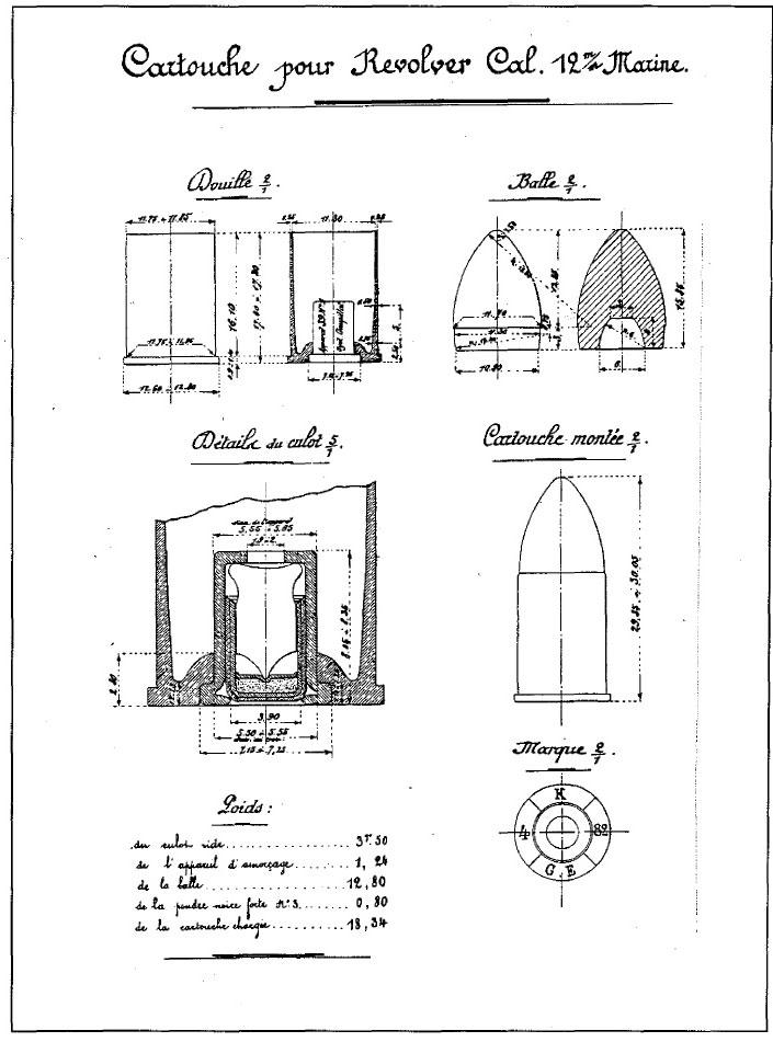 Revolver 1873 de Marine 1er type - Page 2 Cartou10
