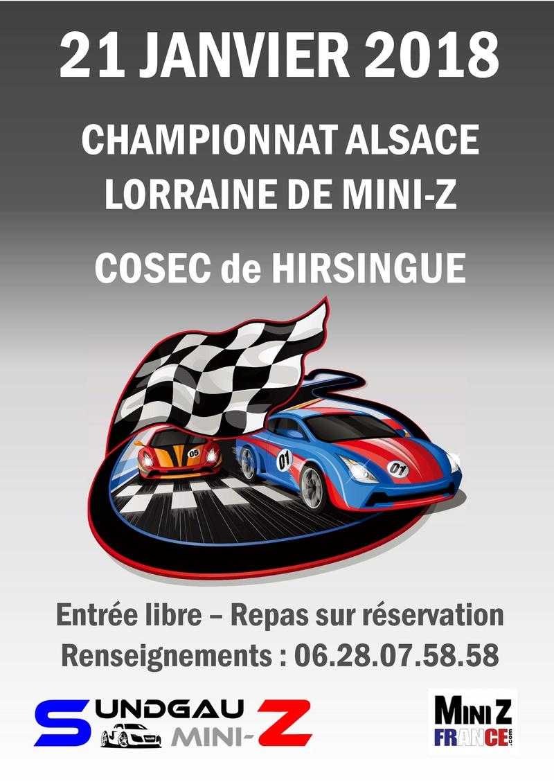 2ème manche du Championnat Alsace - Lorraine à Hirsingue le 21 Janvier 2018 Affich12