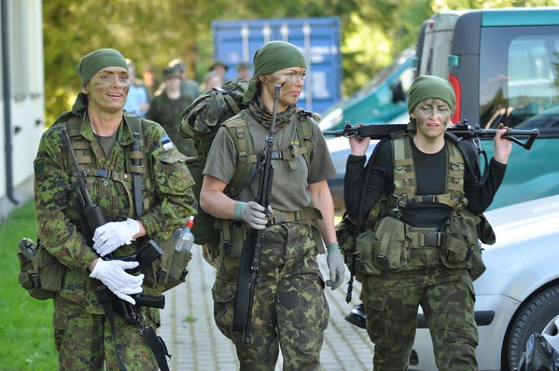 Estonian Defense League uniforms Dac4bk10
