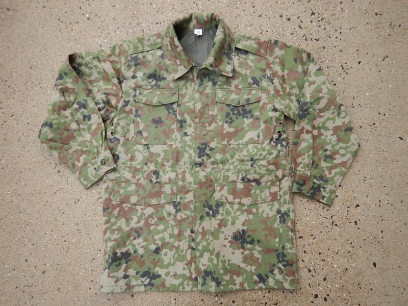 Current JGSDF field jacket Dscn6919