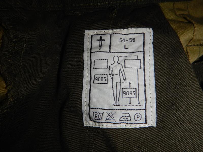 Norwegian olive field trousers Dscn6928