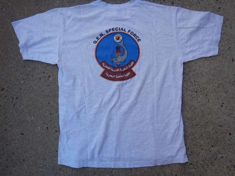Qatari Navy Special Forces T shirt Dscn7225