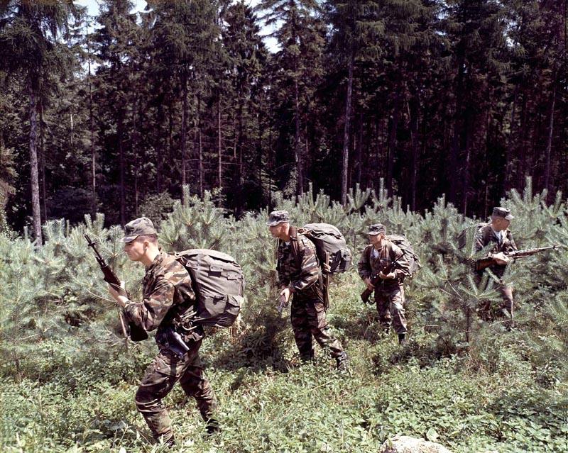 US servicemembers in  TAP47/56 Post-110