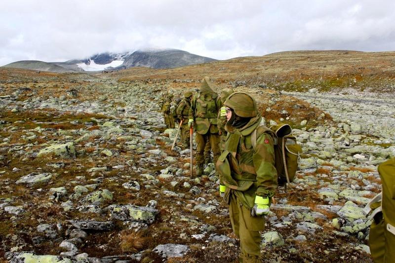 Norwegian olive field trousers S-l16019