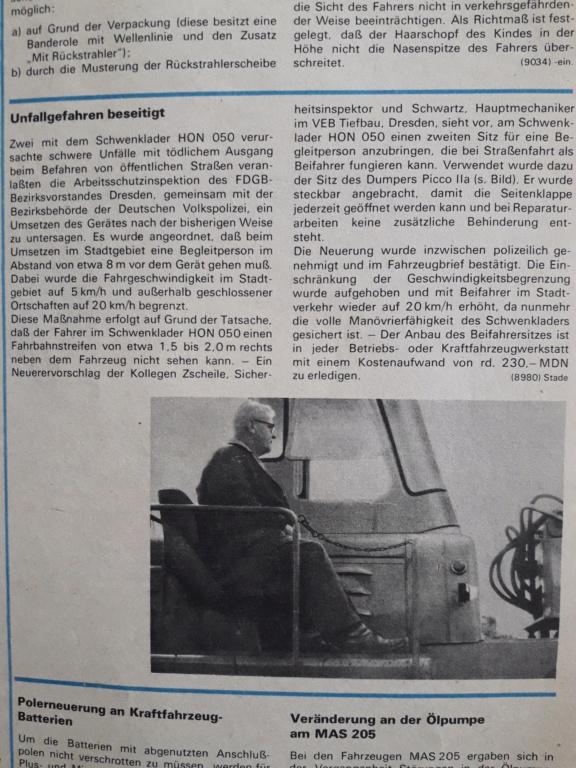 hydraulischer Schwenklader HON-050 und HON-051 20190310