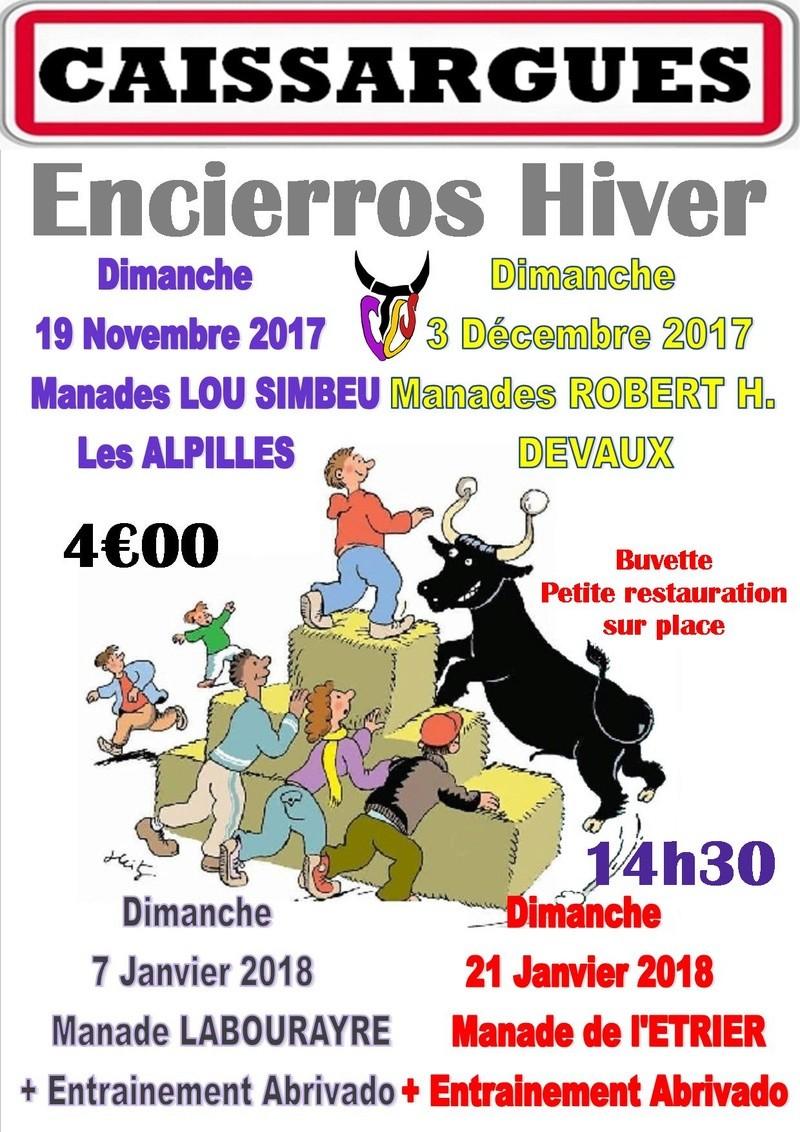 Encierro Hiver CAISSARGUES Aff-en10