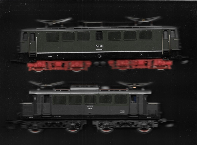 E44 188 - fast ein Einzelgänger ... 144-1811