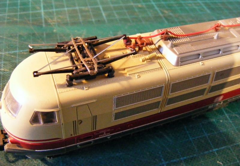 Lima's  BR 103 obenrum aufgepeppt Dscf8813