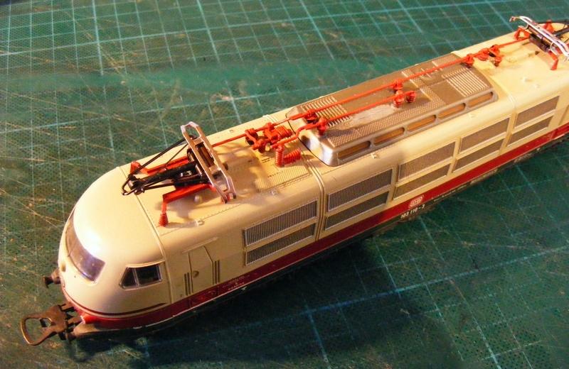 Lima's  BR 103 obenrum aufgepeppt Dscf8818