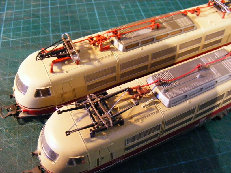 Lima's  BR 103 obenrum aufgepeppt Dscf8820